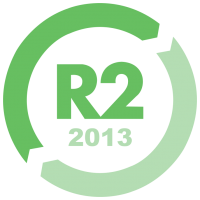 R2:2013< br/>(Responsible Recycling – Certified Electronics Recycler)